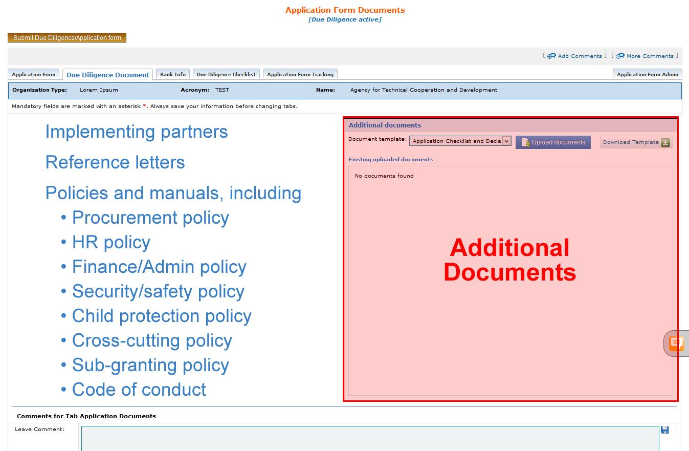 due diligence process checklist